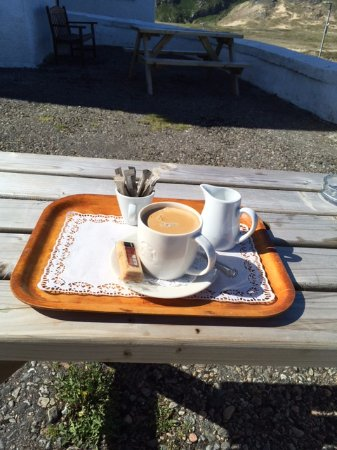Bettyhill, UK : Best coffee on Route 500.