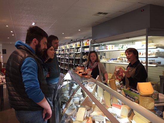 The Big Foody Food Tours: Visiting a gourmet shop