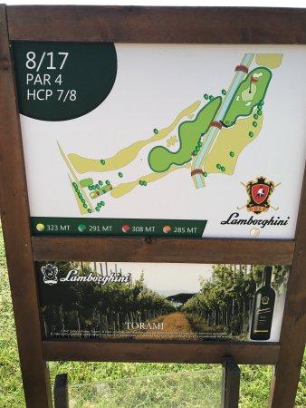 Panicale, Italy: Golf Club Lamborghini