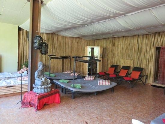 Bamboo Activ Resort: sehr toller Ruheraum mit 2 Wasserbettem und Infrarotkabine