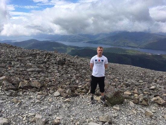 Up and Doon Guided Walks: Ben Nevis peak.