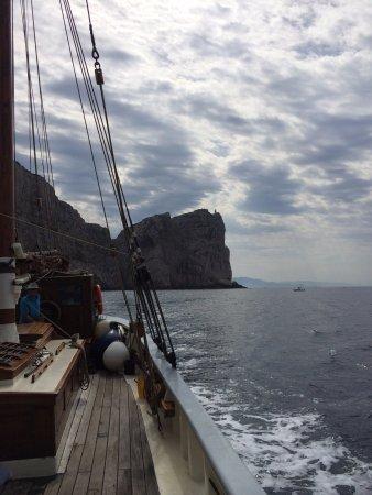 The Andrea Jensen Boat Trip: billede fra båden