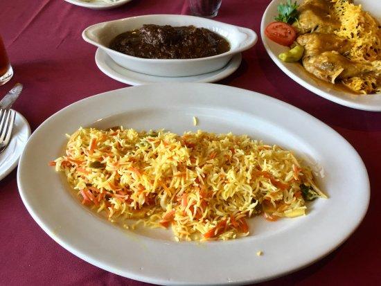 Pars Persian Cuisine: Fessenjen , Shirin Polo