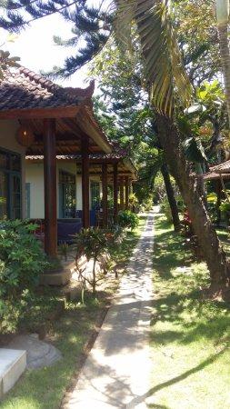 Tenganan, Indonesia: Relax Beach Resort: 'het medicijn tegen hoge bloeddruk' !!