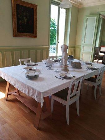 Meudon, Prancis: la salle à manger