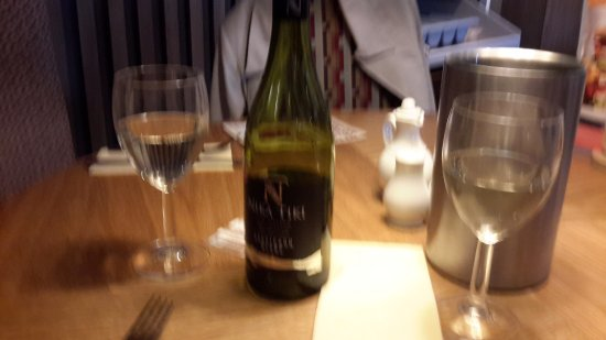 Stevenston, UK: A nice bottle of wine
