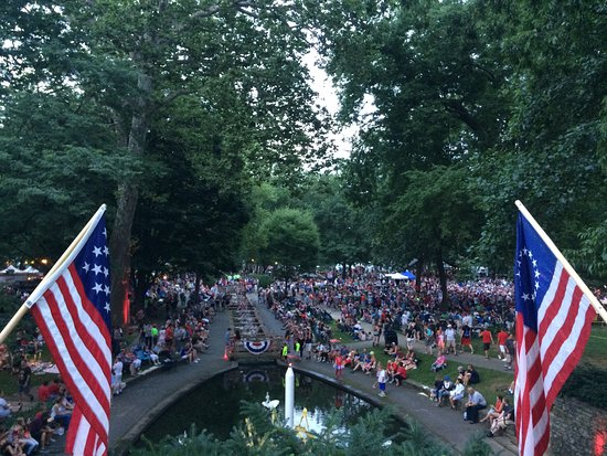 Lititz, PA: 4th of July in the Park