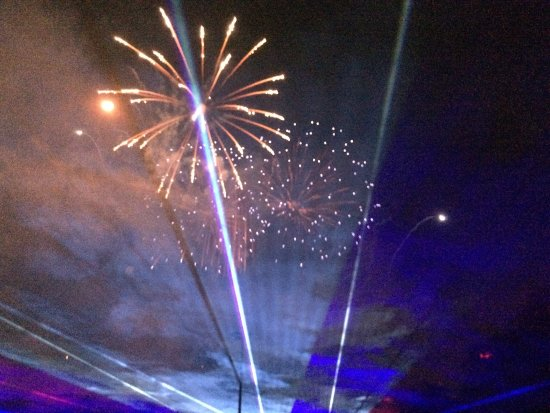 Lititz Springs Park: Fireworks at the park.