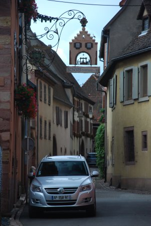 Gueberschwihr, Francja: Enge Gassen