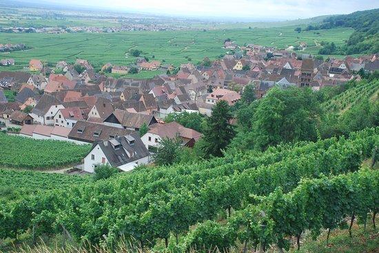 Gueberschwihr, Francja: von oben