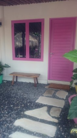 PinkCoco Bali: Room entrance