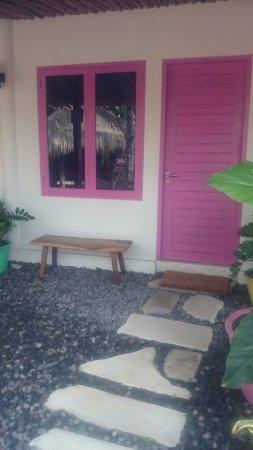 PinkCoco Bali: Room entrance