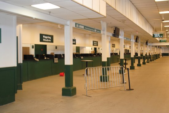 Churchill Downs: ticket counters