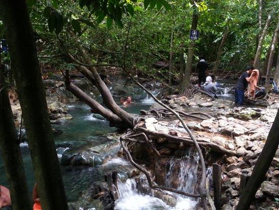 Namtok Ron (Hot Spring Waterfall ) - Khlong Thom : 20170711_141818_large.jpg