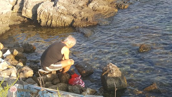 Bjelila, Montenegro: Local Fisherman