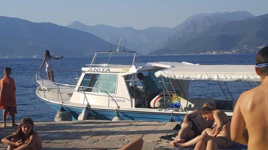 Bjelila, มอนเตเนโกร: Boat Taxi to Kotor
