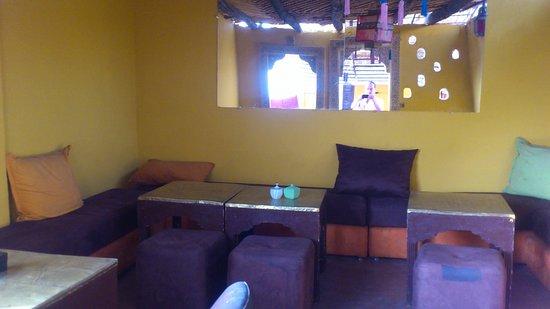 Earth Cafe Marrakech: ganz oben