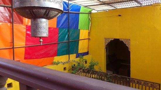 Earth Cafe Marrakech: Speiseräume