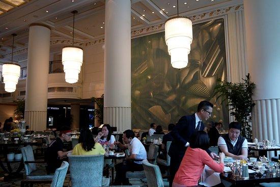 The Peninsula Shanghai: The Lobby breakfast