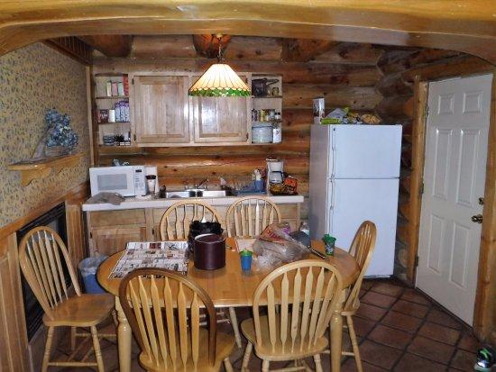 Hibernation Station: Kitchen-Dining area