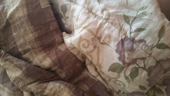 Beech Mountain, NC: In desperate need of new bedding, updates, and repairs. The comforters looked like a prop from a