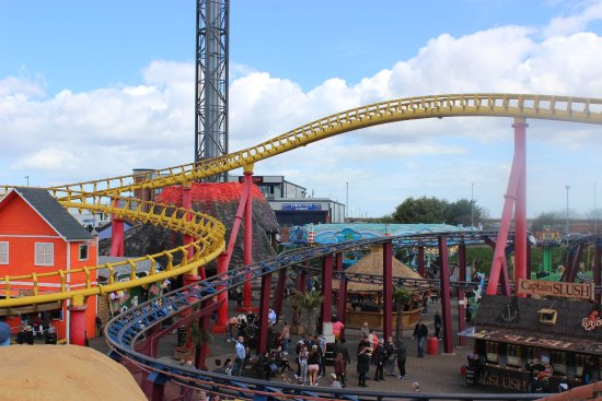 Fantastic Roller Coasters and fun for all the Family at Fantasy Island