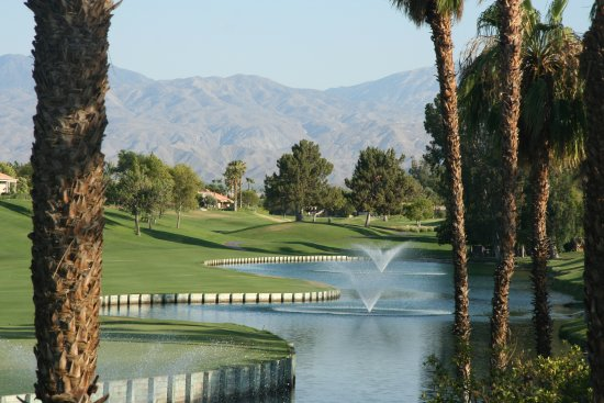 Rancho Mirage, Californien: What a view of the golf course