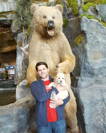 Garland, TX: My brother was really impressed with this Bass Pro (my brother is the less furry one).