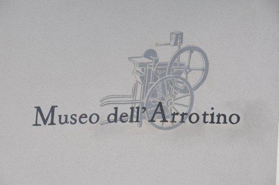 Resia, Italien: Simbolo all'ingresso del Museo