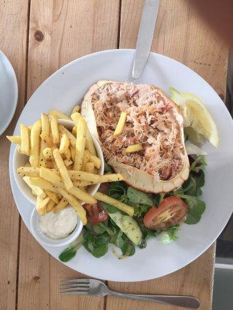 Birdies Bistro: Birdies Cornish Crab Salad