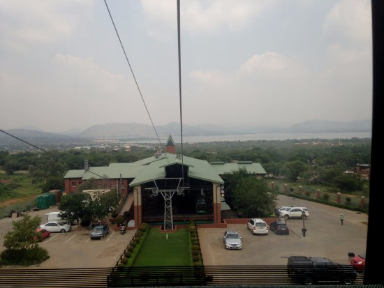 Hartbeespoort, South Africa: View from the cable car