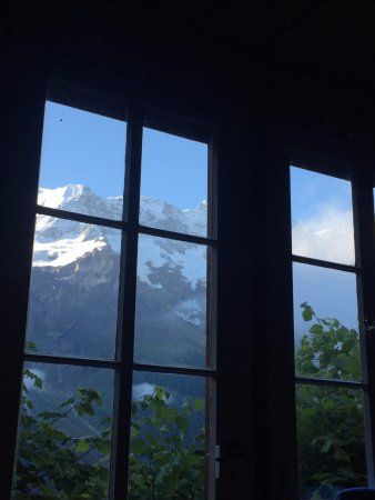Hotel Mittaghorn: view from my bed!
