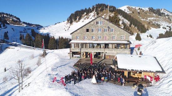 Crazy Moose et Maison de Montagne de Bretaye, idéal pour votre sortie d'entreprise, mariage, etc