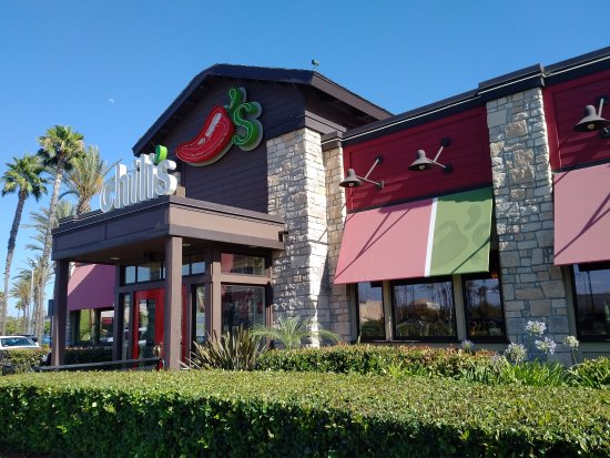 Exterior of Chili's Grill & Bar in Buena Park, CA