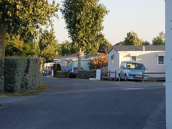 La Gueriniere, Frankrijk: Camping Caravan'ile