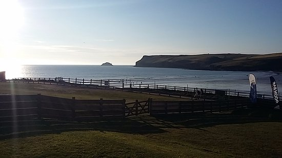 Polzeath, UK: View from the Cracking Crab