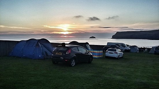 Polzeath, UK: Sunset