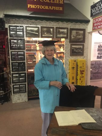 Mum going back to 1946 in the Heritage Centre close by in Bellingham Town Centre