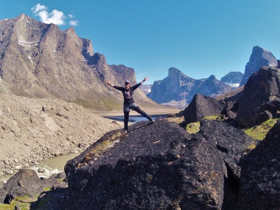 Iqaluit, Kanada: Stunning Mount Odin and Mount Thor in Auyuittuq National Park. This could be you!