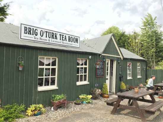 Brig o' Turk Tearoom and Restaurant: Esterno della Tea room