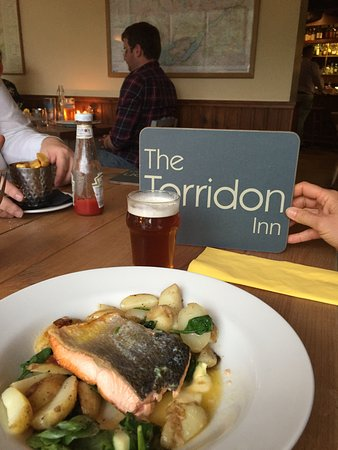 Torridon, UK: Grilled Salmon