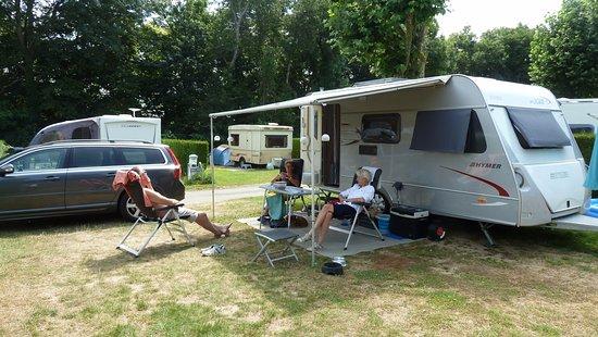 Taden, Frankrijk: campeerplek