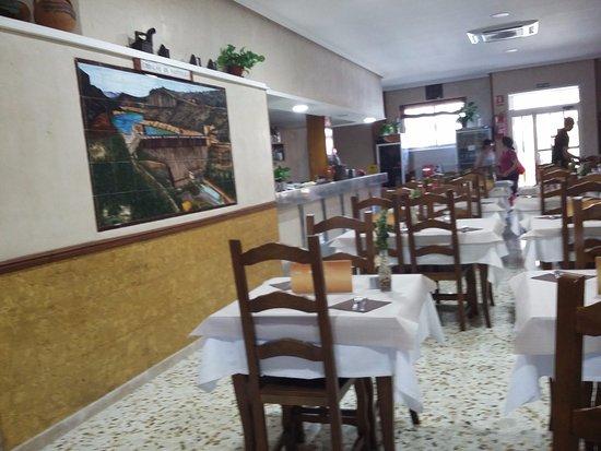Castellote, Hiszpania: Restauante