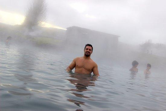 Fludir, Islandia: Relaxing