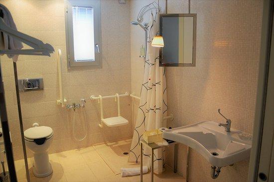 Murata, São Marinho: bagno camera disabili