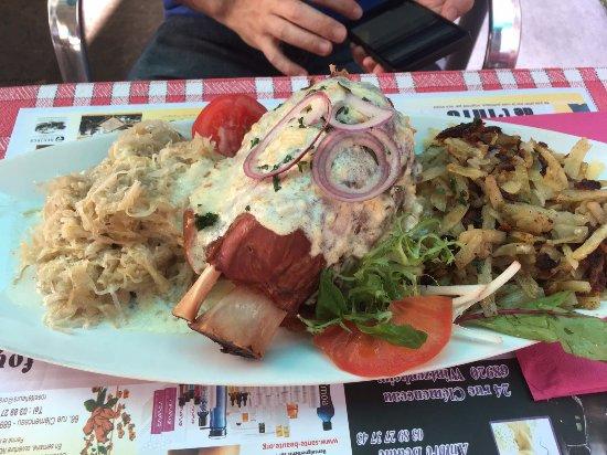 Jarret de porc aunque realmente es jambonneau picture - Cuisiner le jarret de porc ...