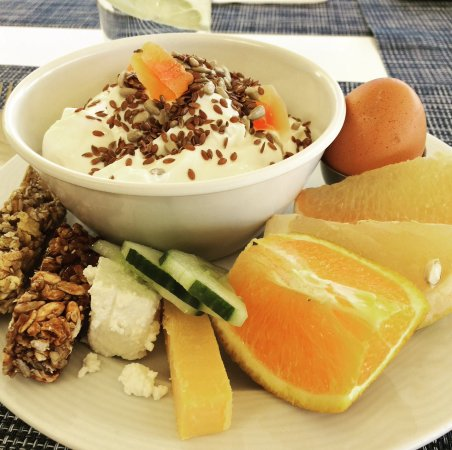 Louis Creta Princess Beach Hotel: Frukost!