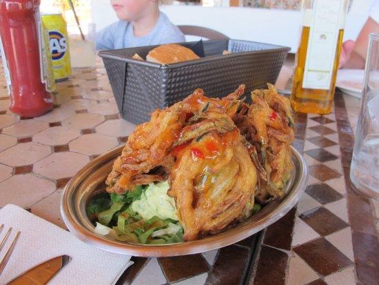 The Garden Restaurant : Friterade grönsaker