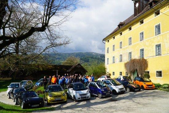 Bad Sankt Leonhard im Lavanttal, Austria: Wir waren im Mai im Schloss Lichtengraben mit dem smart Club. Wir hatten eine tolle Führung sowi
