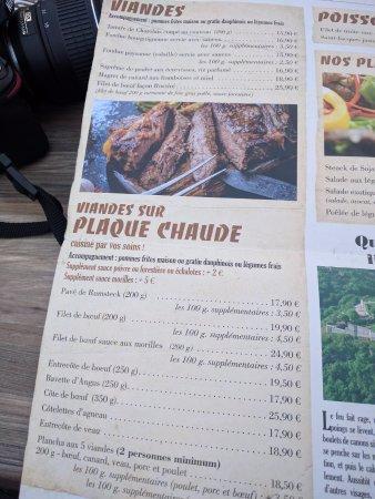 Carta photo de la grange besan on tripadvisor - Restaurant la grange besancon ...
